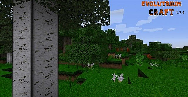 Evolutrium Craft Resource Pack 1.7.10/1.7.2/1.6.4 [64x]