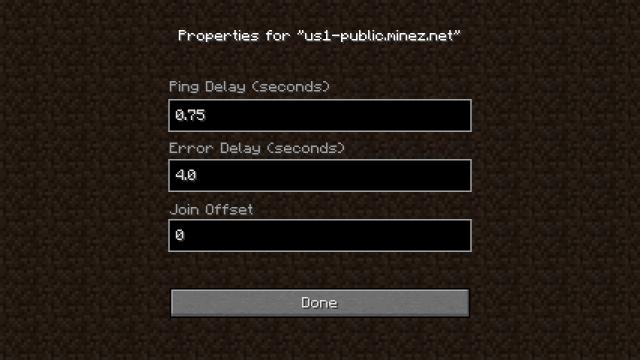 AutoJoin Mod 1.7.2/1.6.4