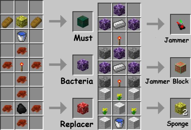 Bacteria Mod [1.6.4]