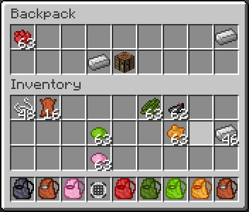 Backpacks Mod 1.7.2/1.6.4 by Grim3212