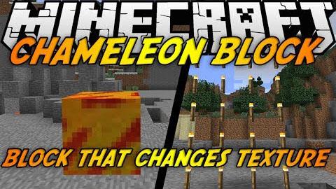 Chameleon Blocks Mod [1.7.2]