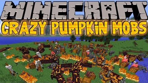 Crazy Pumpkin Mobs Mod [1.6.4]