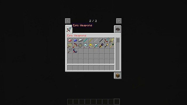 Epic Weapons Mod [1.7.2]