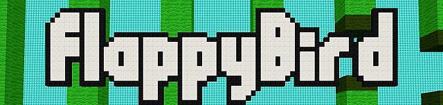 Flappy Bird Map [1.8] by Dudelcraft