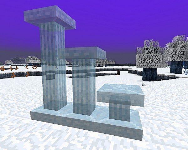 Glacia Dimension Mod 1.7.10/1.7.2/1.6.4