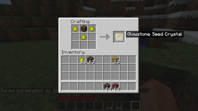 Glowstone Seeds Mod [1.7.2] [1.6.4]