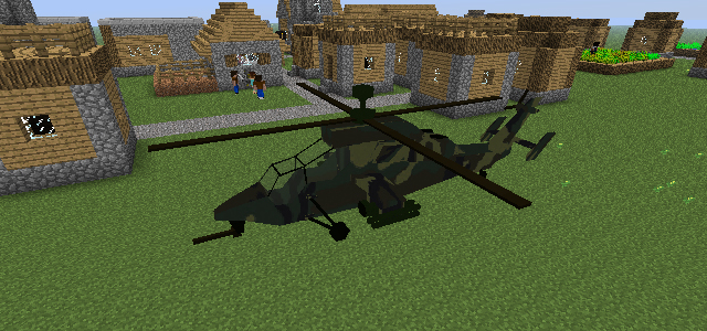 MC Helicopter [1.7.10] [1.6.4] [1.5.2]