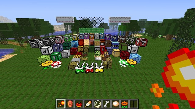 Mario Hand Drawn Resource Pack 1.7.10/1.7.2 [16x]