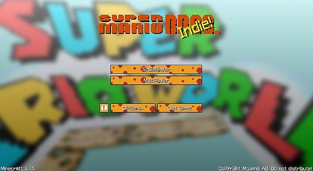 Mario Hand Drawn Resource Pack 1.7.10/1.7.2 [16x]