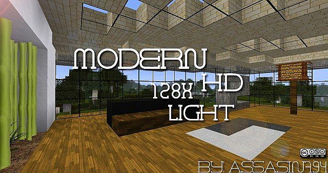 Modern Craft HD Light Resource Pack 1.7.10/1.7.2/1.6.4 [128x]