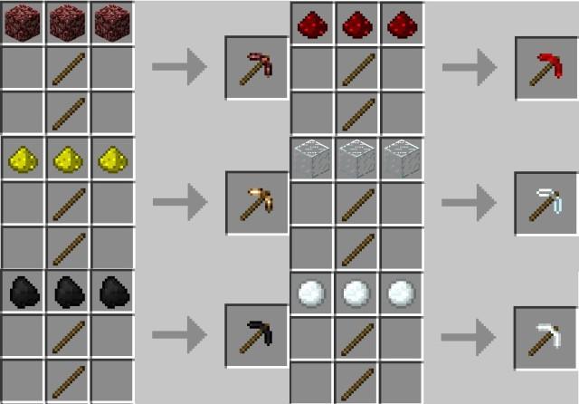 More-Pickaxes-Mod-2