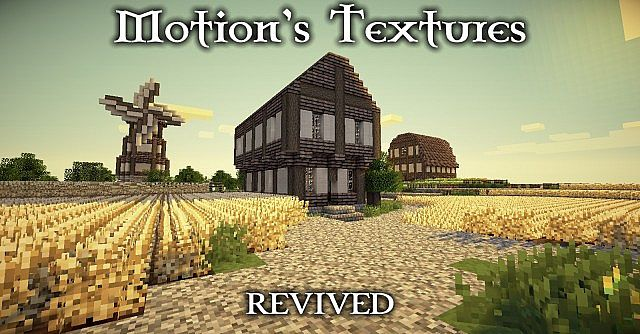 Motion's Resource Pack Revived 1.7.10/1.7.2/1.6.4 [16x]