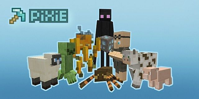 PiXiE Resource Pack 1.7.9/1.7.2 [16x]