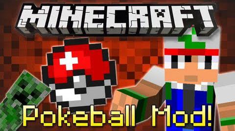 Pokeball Mod [1.7.2] by grim3212