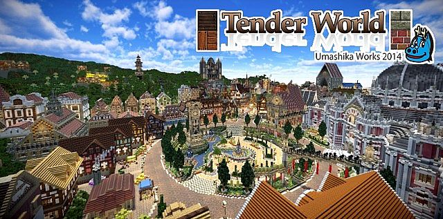 Tender World Resource Pack 1.7.9/1.7.2 [32x]
