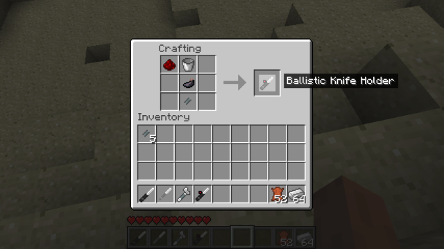 Call of Duty Knives Mod [1.7.2] [1.6.4]