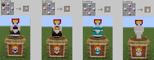Touhou Alice's Doll Mod [1.7.2] [1.6.4]