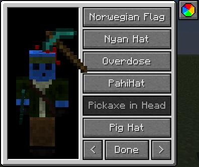 iChun's Hats [1.12.2] [1.10.2] [1.7.10] (77 шляп)