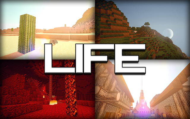 Life HD 1.8.9 [128x, 64x]