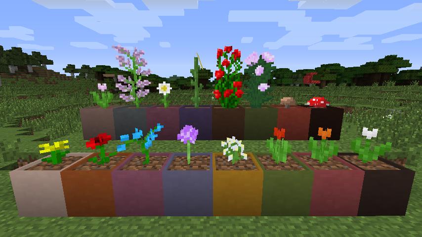 Как сделать мод для цветов