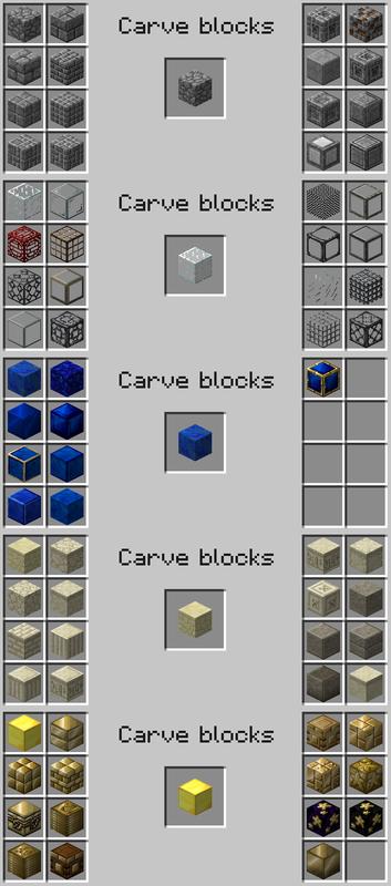 Мод Chisel 2 [1.12.2] [1.11.2] [1.10.2] [1.7.10] (блоки для строительства)