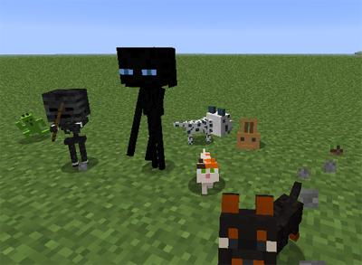 Dog Cat Plus Mod 1.7.10/1.7.2/1.6.4/1.5.2