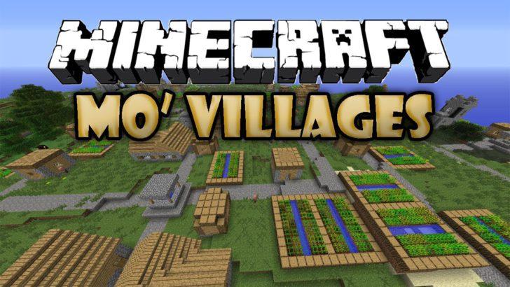 Mo' Villages [1.12.2] [1.11] [1.10.2] [1.9.4]