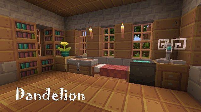 Dandelion Resource Pack 1.8/1.7.10/1.7.2 [16x]