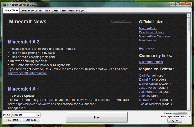 Minecraft лаунчеры майнкрафт 18 мая 2014