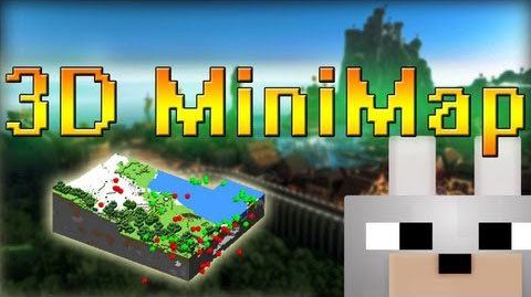 3D Minimap Mod 1.7.2
