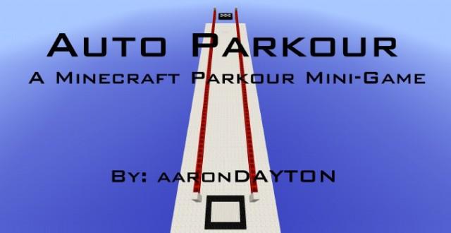 Auto Parkour Map 1.8