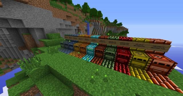 Metallurgy 4 Reforged [1.12.2] [1.7.10] (руды и металлы)
