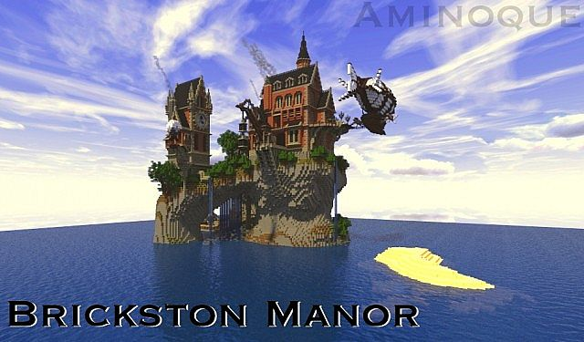 Brickston Manor Map 1.7.9/1.7.2/1.6.4