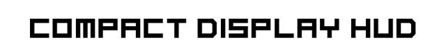Compact Display HUD Mod 1.7.2/1.6.4/1.5.2