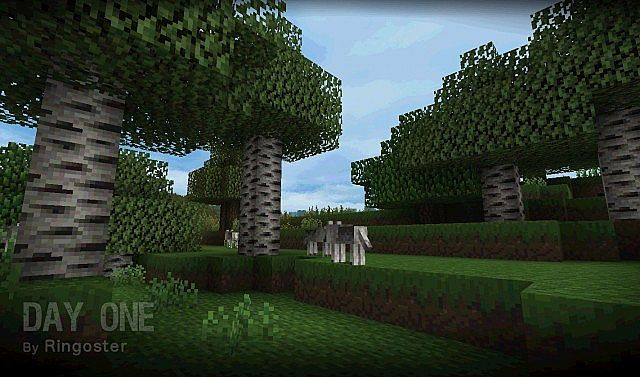 Day One Resource Pack 1.7.9/1.7.2 [16x]