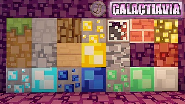 Galactavia Resource Pack 1.7.9/1.7.2 [16x]