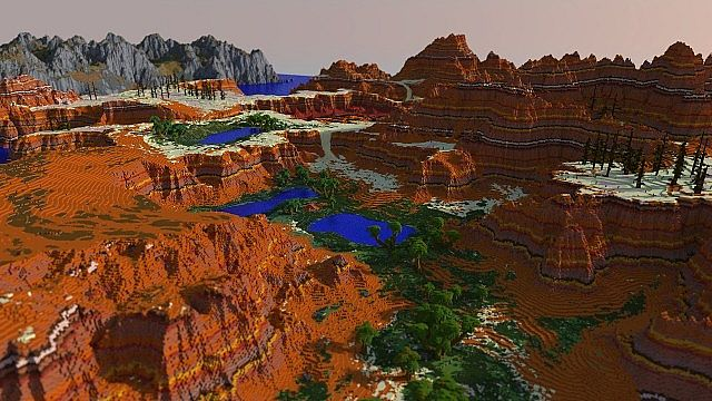 Lands of Luvem Map 1.7.9/1.7.2