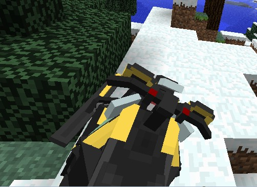Snowmobile Vehicle Mod 1.6.4