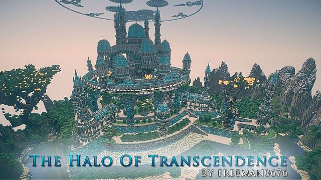The Halo of Transcendence Map