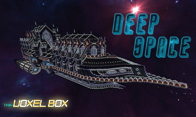 The Voxel Box Deep Space Resource Pack 1.7.9/1.7.2 [16x]