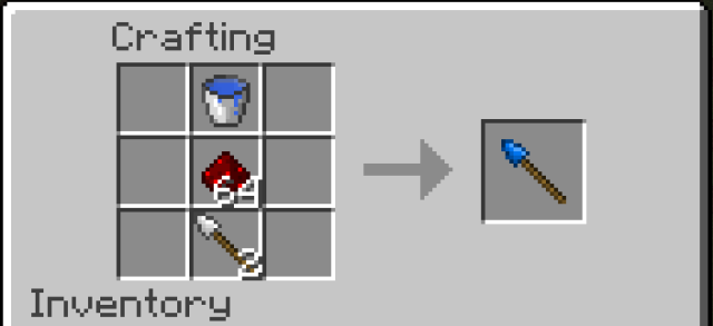 Throwing Spears Mod 1.7.2