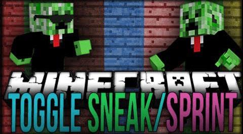 Toggle Sneak/Sprint Mod 1.7.2/1.6.4/1.5.2