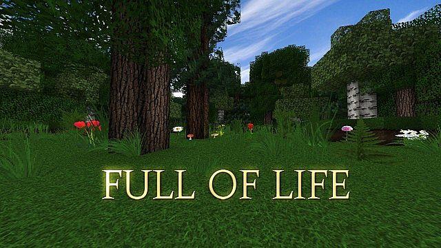 Full of Life - реалистичные текстуры [1.13.2] [1.12.2] (128x)