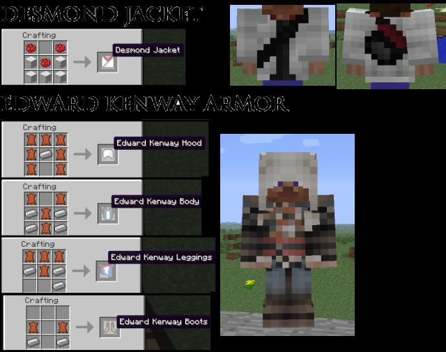 AssassinCraft Mod 1.7.10/1.7.2/1.6.4/1.5.2