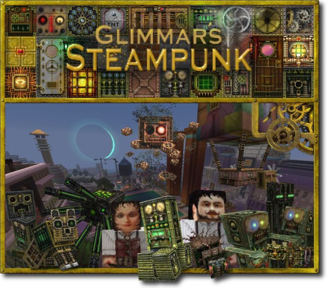 Glimmar's Steampunk 1.7.10/1.7.2/1.6.4 [32x, 64x]