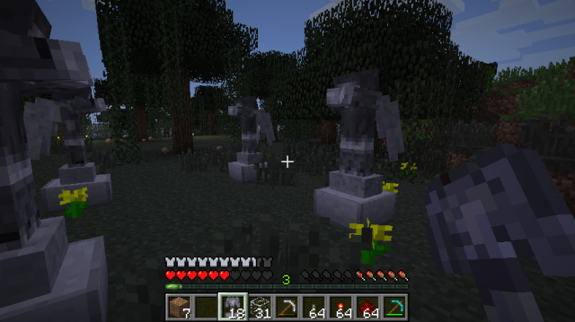 Weeping Angels Mod 1.7.2/1.6.4/1.5.2