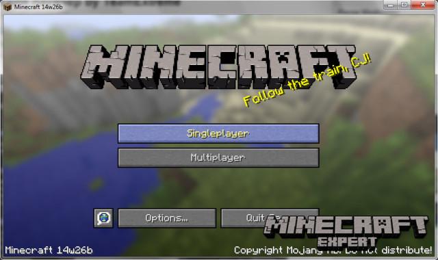 Minecraft snapshot 14w27b (1.8)
