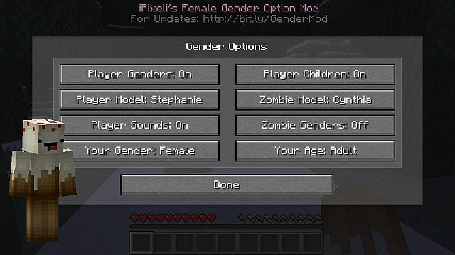 iPixeli's Gender [1.11.2] [1.10.2] [1.8] [1.7.10]