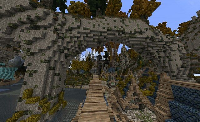 Imreldris – Fantasy Port Town Map 1.7.10/1.7.9/1.7.2
