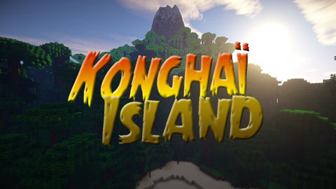 Konghaï Island Map 1.7.10/1.7.9/1.7.2